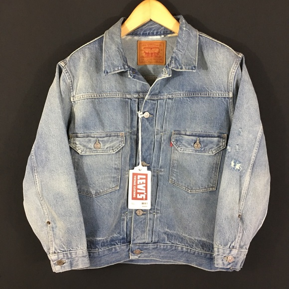 77ef1a9c51 Levi s 1953 Type II Denim Trucker Jacket Big E